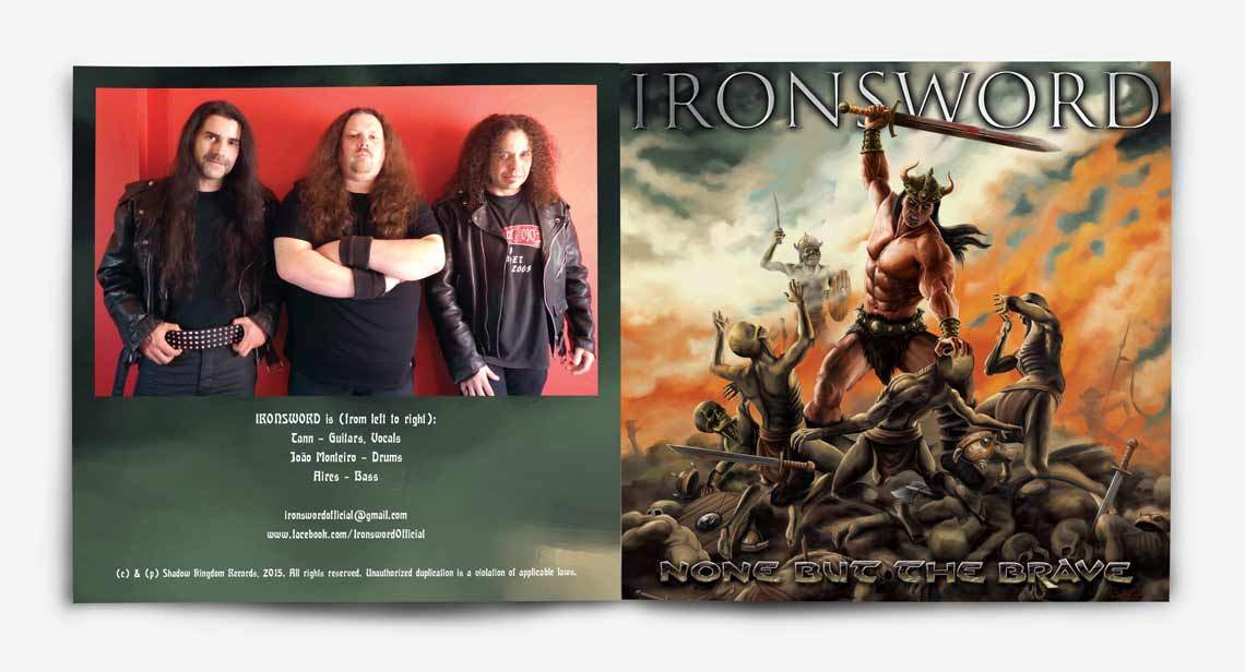 CD 'None but the brave' para Ironsword