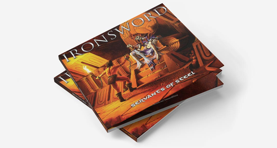 CD 'Servants of Steel' para Ironsword